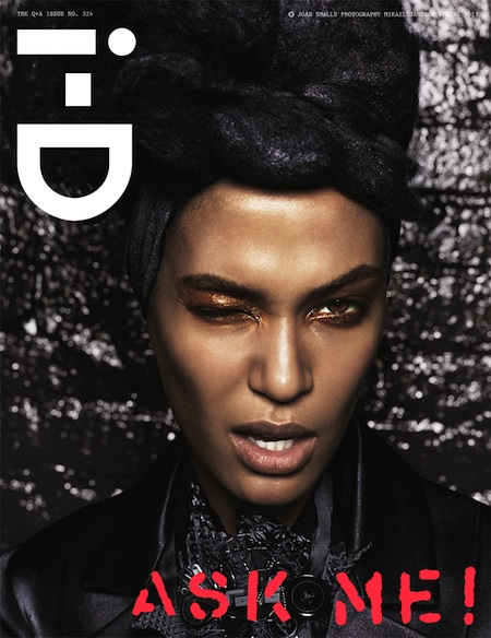 i-D Magazine Spring 2013 Cover Joan Smalls
