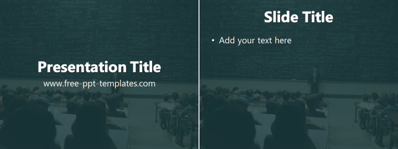 college powerpoint presentation examples