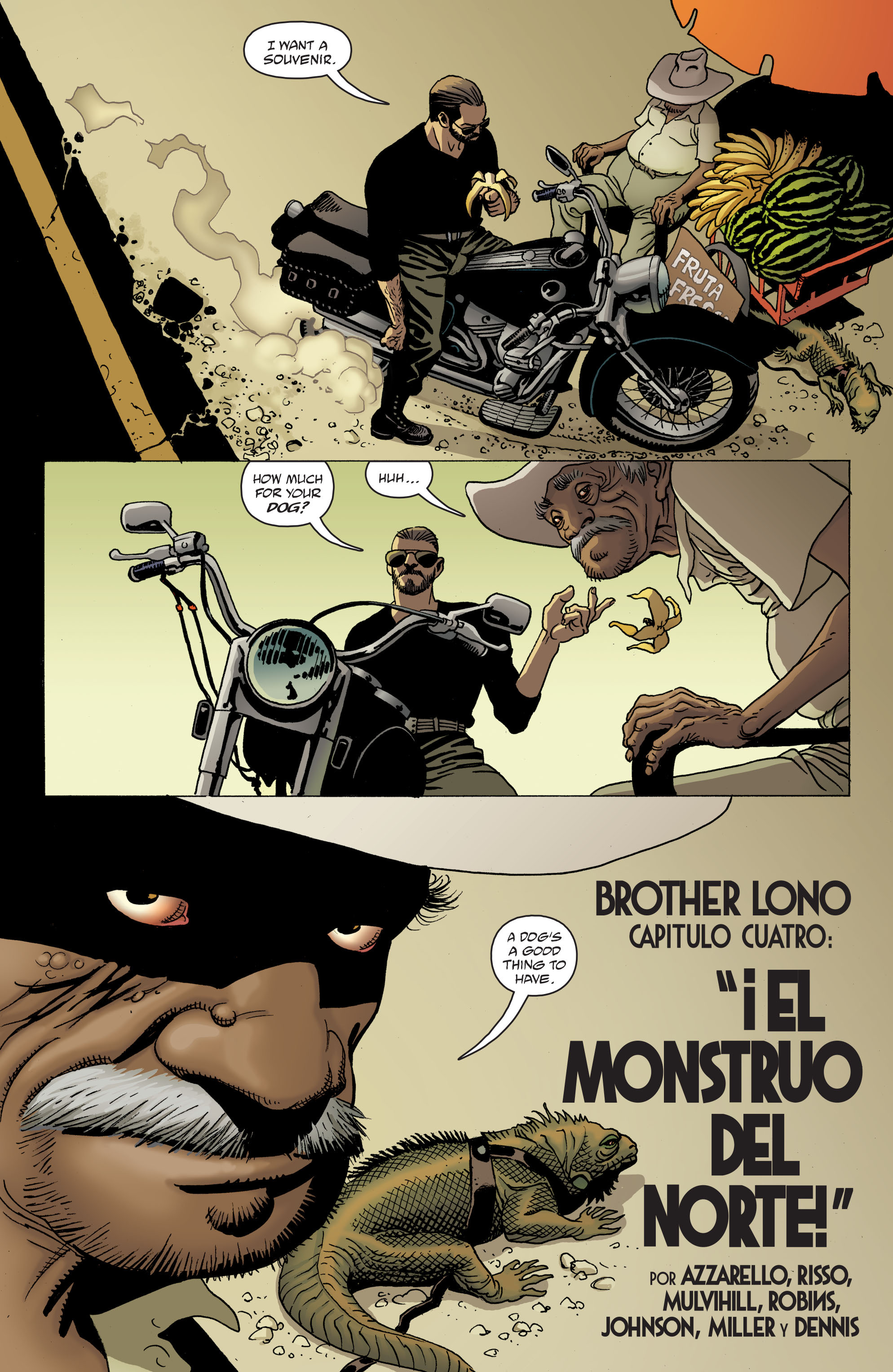 100 Bullets: Brother Lono Full Page 81