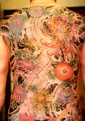 Back Japanese Tattoo