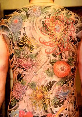 Back Japanese Tattoo
