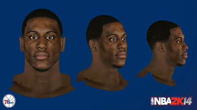NBA 2K14 Thaddeus Young Cyberface Mod