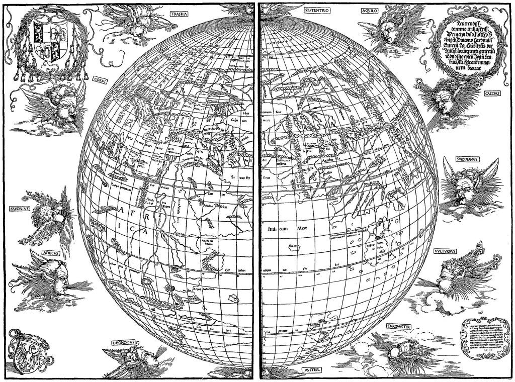 FREE ViNTaGE DiGiTaL STaMPS Free Vintage Printable Black and White Map