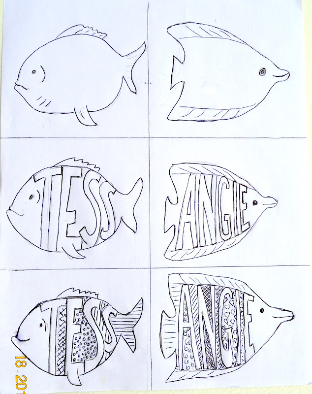 For this activity, you can either make a fish template, give the  title=