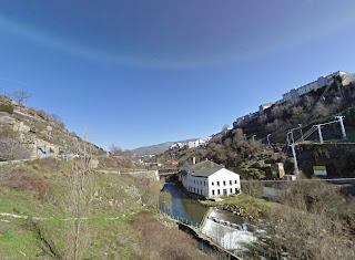 Museo Textil ubicacion vista panorámica Béjar