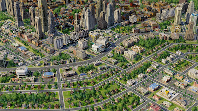 simcity 5 (2013) no more zoning curved roads