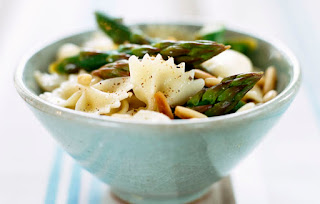 Quick Asparagus Pasta by VegNews