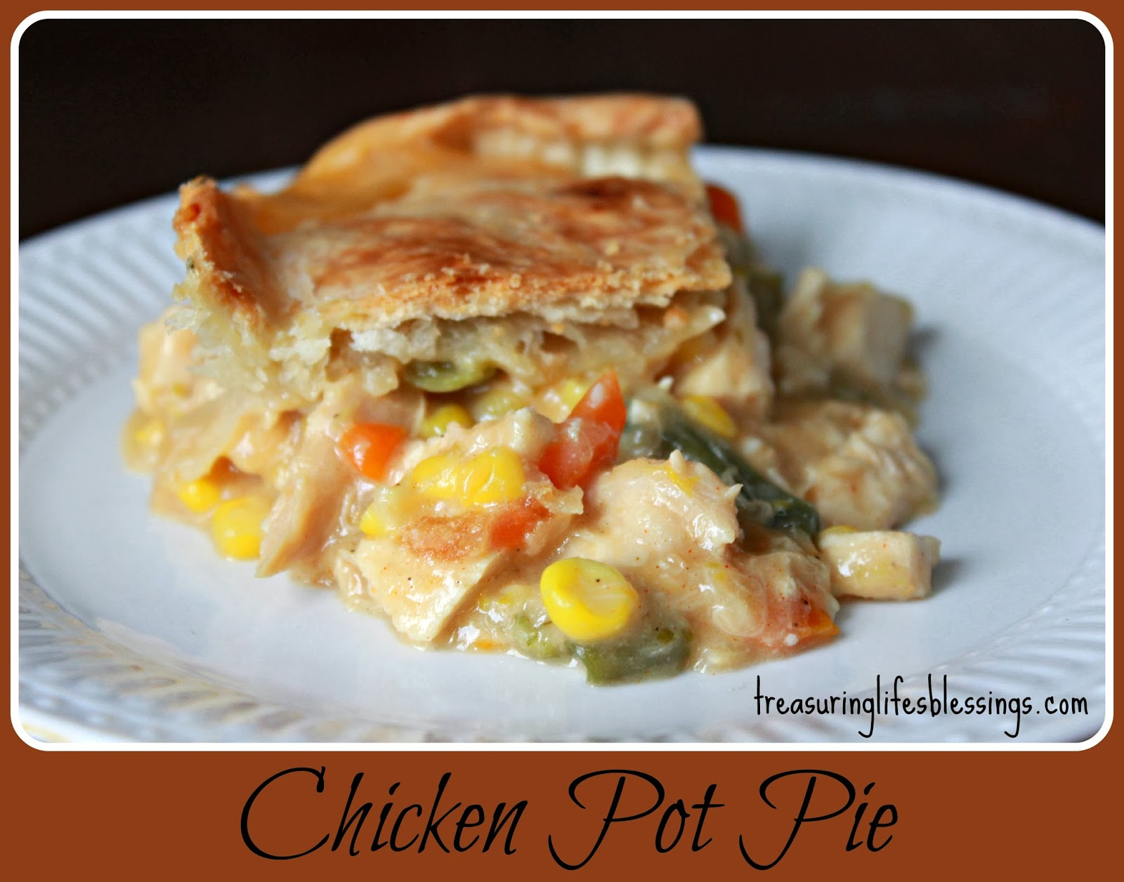 Chicken Pot Pie w/crust