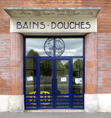 Parisdailyphoto bains douches for Bain douche hotel paris