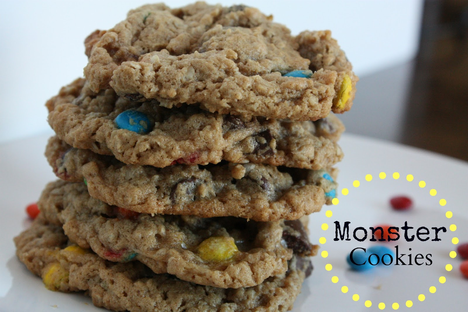 Simply This and that: Monster Cookies