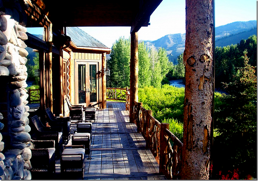 Lauradivenereinteriors sun valley to aspen it 39 s all for Dennis mill cabin