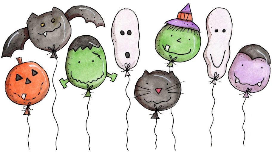 Dibujos para todo: Dibujos de Halloween a color
