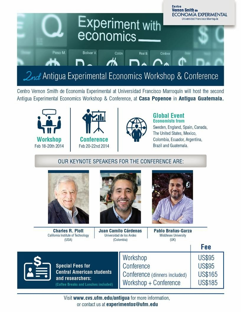 UDADISI: 2nd Antigua Experimental Economics Workshop & Conference!