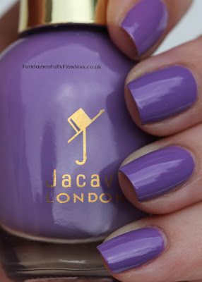 Jacava Blueberry Muffin swatch and review