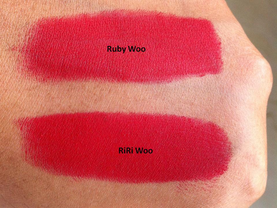 MAC RiRi Woo Retro Matte Lipstick - Review, Swatches - Pout Pretty