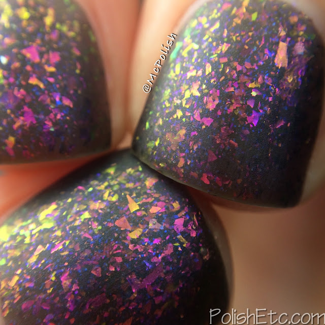 Loaded Lacquer - Beauty & the Beast Mode - McPolish - Gym-timidation matte macro