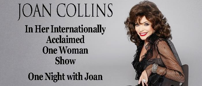 JOAN RETURNS TO THE WEST END IN FEBRUARY 2014! BE THERE!