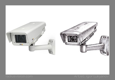 AXIS P1343-E IP camera