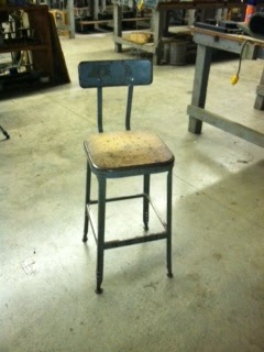 My Industrial Rooster/Chicken Chair