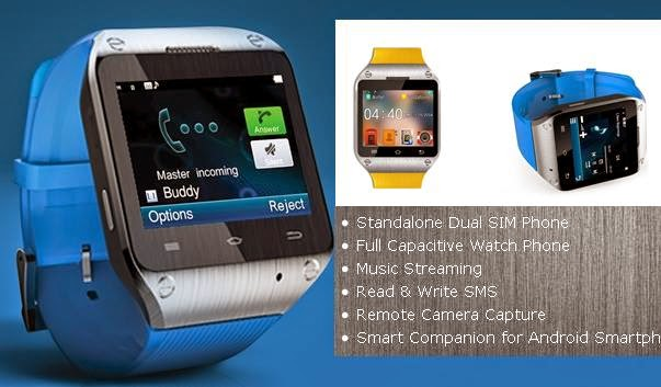 Spice Smart Pulse M-9010 Smartwatch Price in India image