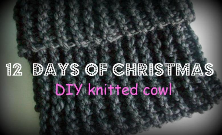 Knitting Pattern 12 Days Of Christmas : MooeyAndFriends: 12 days of Christmas: DIY knitted cowl