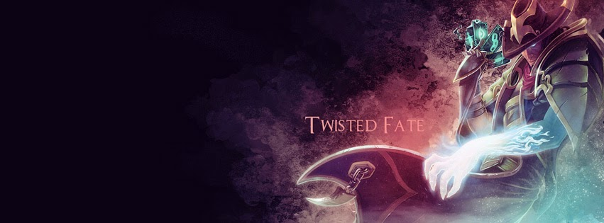 Twisted Fate League of Legends Facebook Cover Photos