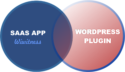saas application as wordpress plugin