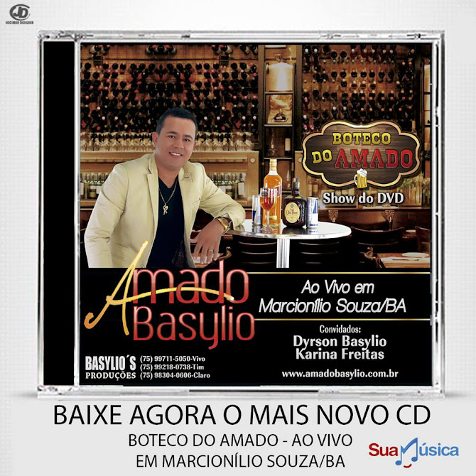 NOVO CD AMADO BASYLIO