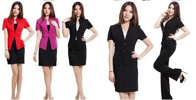 model seragam kantor wanita design