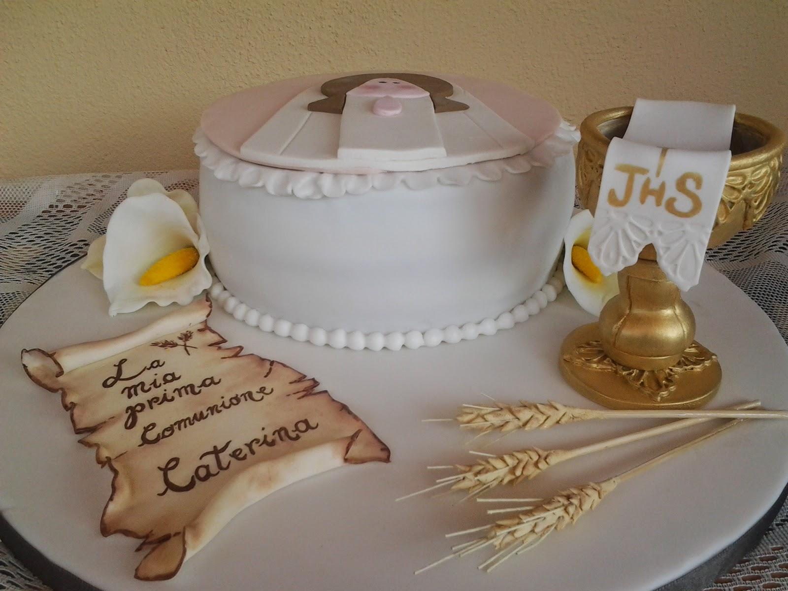 Préférence Torta per la Comunione di Caterina ^^ - Le Torte di Antonella LT39