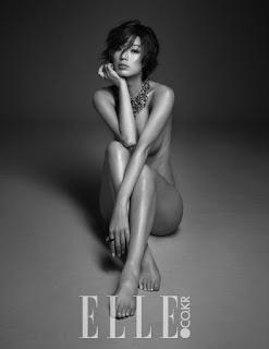 Ahn Young Mi 안영미 Elle Korea Pictures