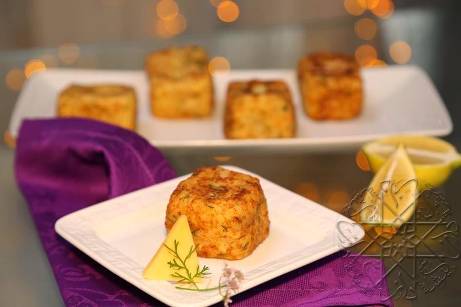 شهيوات شميشة 2014 : مكعبات البطاطس المقرمشة بالجبن