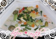 Gambar Resep Masakan Sayur Lodeh dengan Kacang Panjang Dapur Cantik