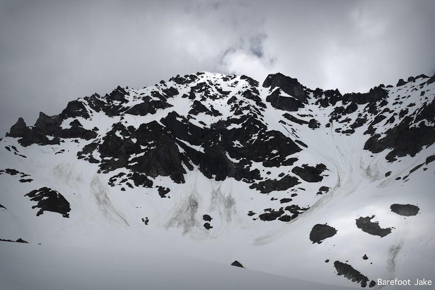 Mount Deception snow