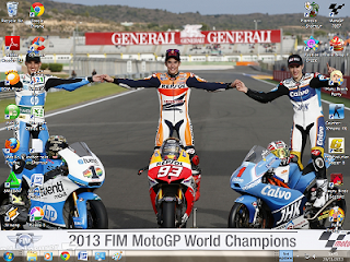 Download Tema Windows 7: 2013 Motogp World Champion