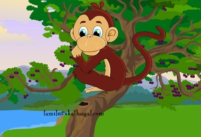 The Monkey and the Crocodile 1