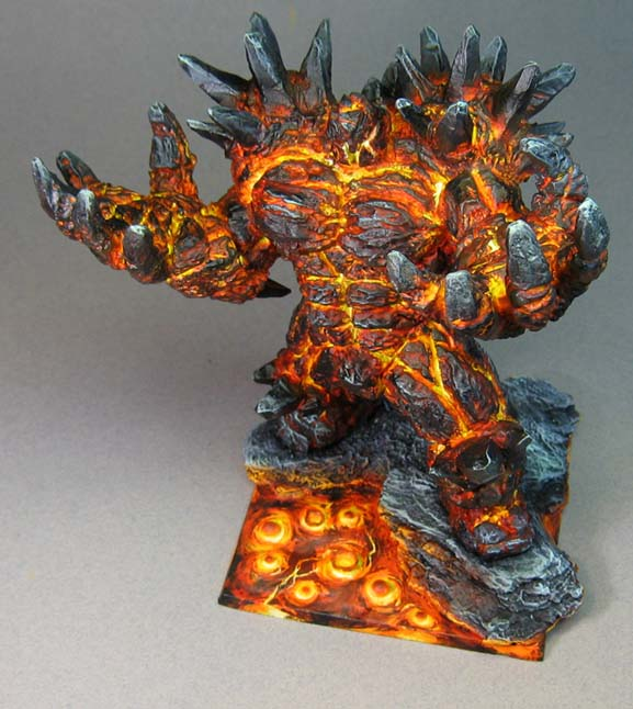 James Wappel Miniature Painting Rothand Studios Lava