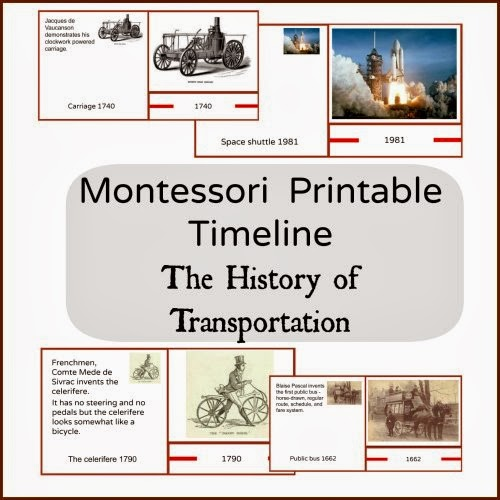 The History of Transportation.