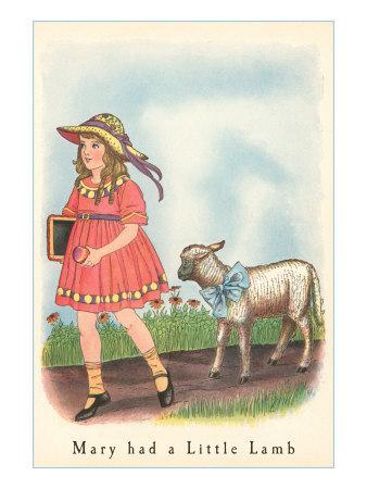 Mary Had A Little Lamb Nursery Rhyme Fun