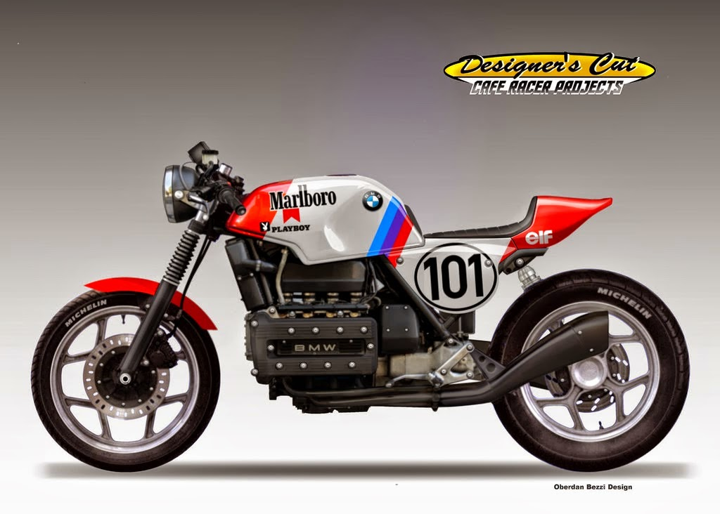 Sehr My BMW K100RS Cafe Racer Project PM46
