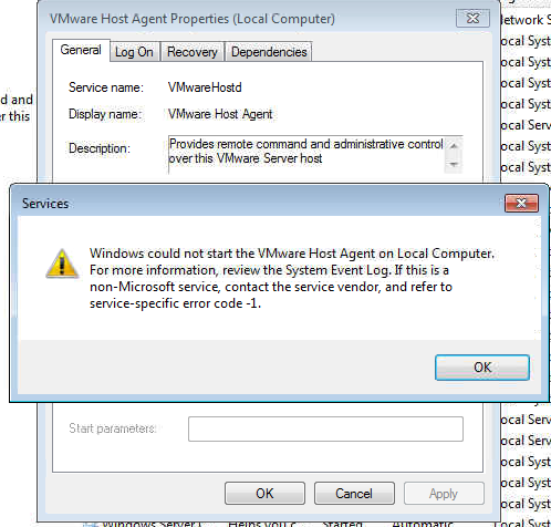 My tech troubleshooting vmware server 2 0 host agent for Consul server vs agent