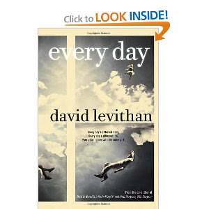 David Levithan Every Day Book Release Date