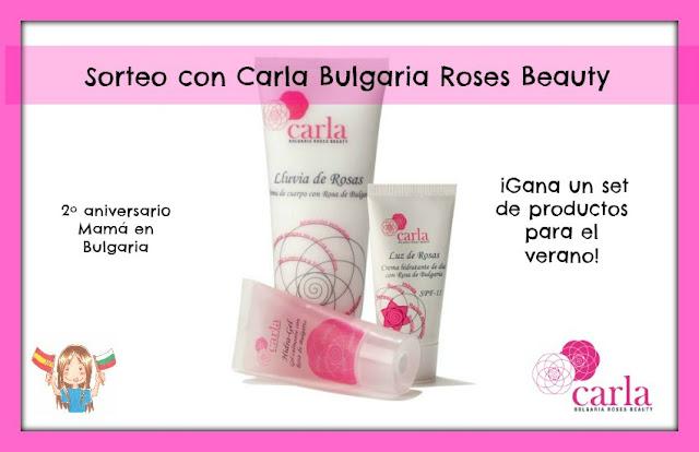 Sorteo Carla Bulgaria Roses Beauty