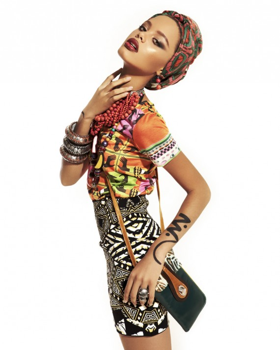 Editorial Marianne Garces Greylin Queliz African Inspired Editorial For A La Moda Mag