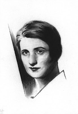 Ayn Rand Art Drawing Objectivism Justin Wisniewski