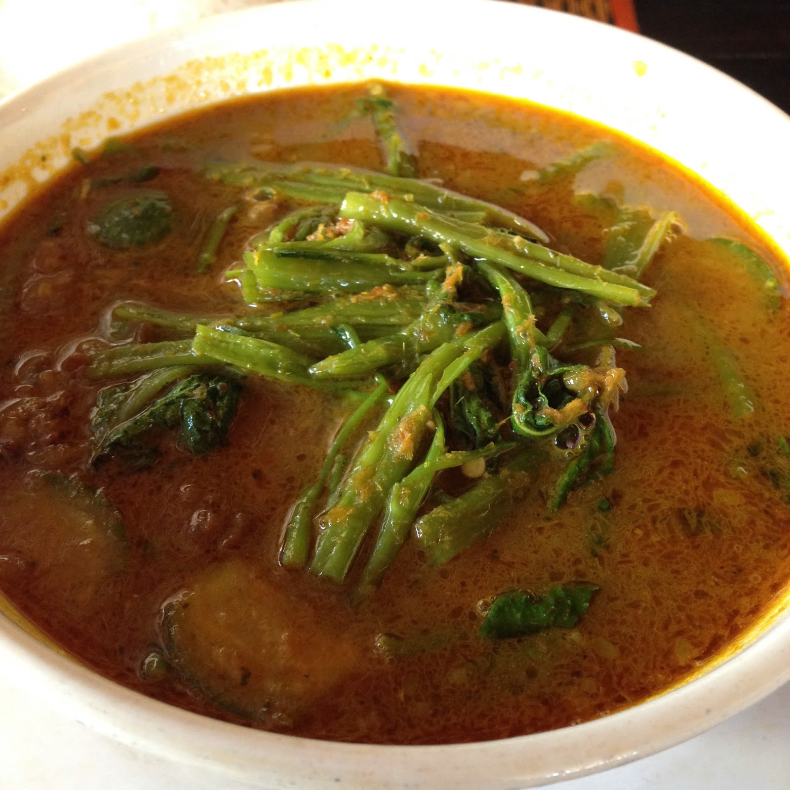 Muslim Family Kitchen, Khmer Spicy Soup