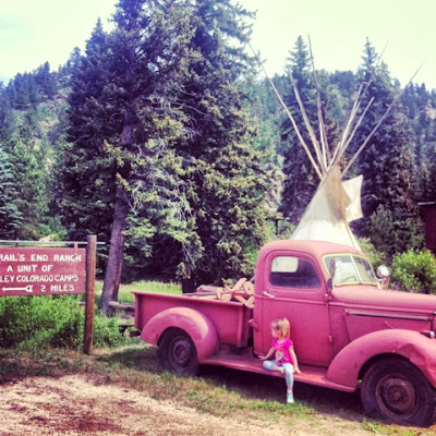 Glen Haven Teepee, Glen Haven Colorado www.thebrighterwriter.blogspot.com