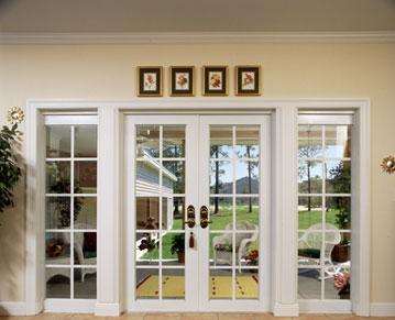 Window Covering Designs: French Doors