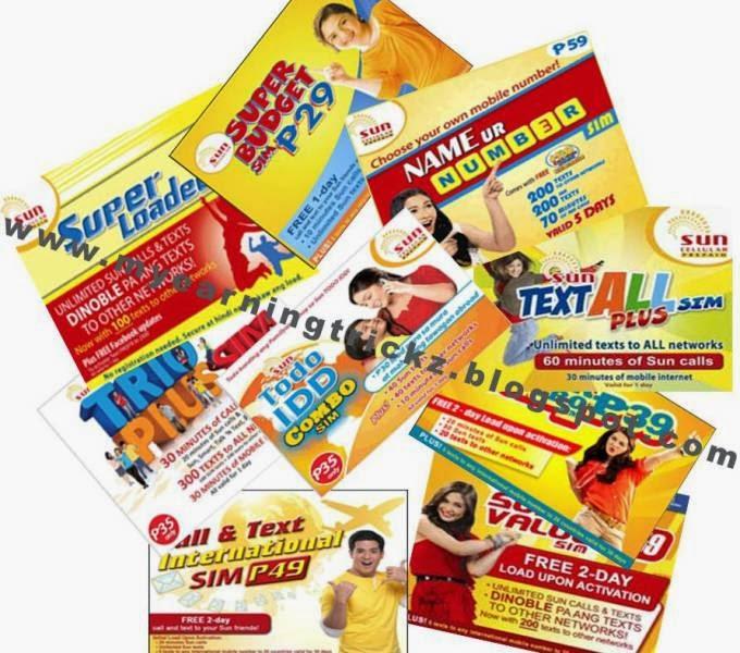 SUN prepaid SIM
