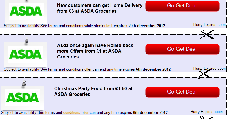 Asda coupon codes free delivery